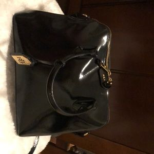 Black Ralph Lauren  leather cross body bag